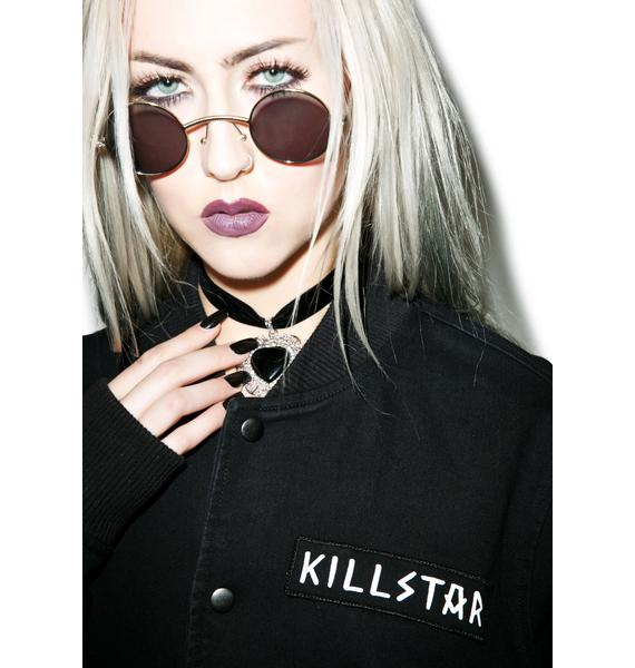 Killstar Horny Denim Bomber