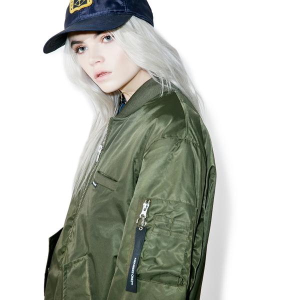 Members Only Authentic Military Bomber Jacket