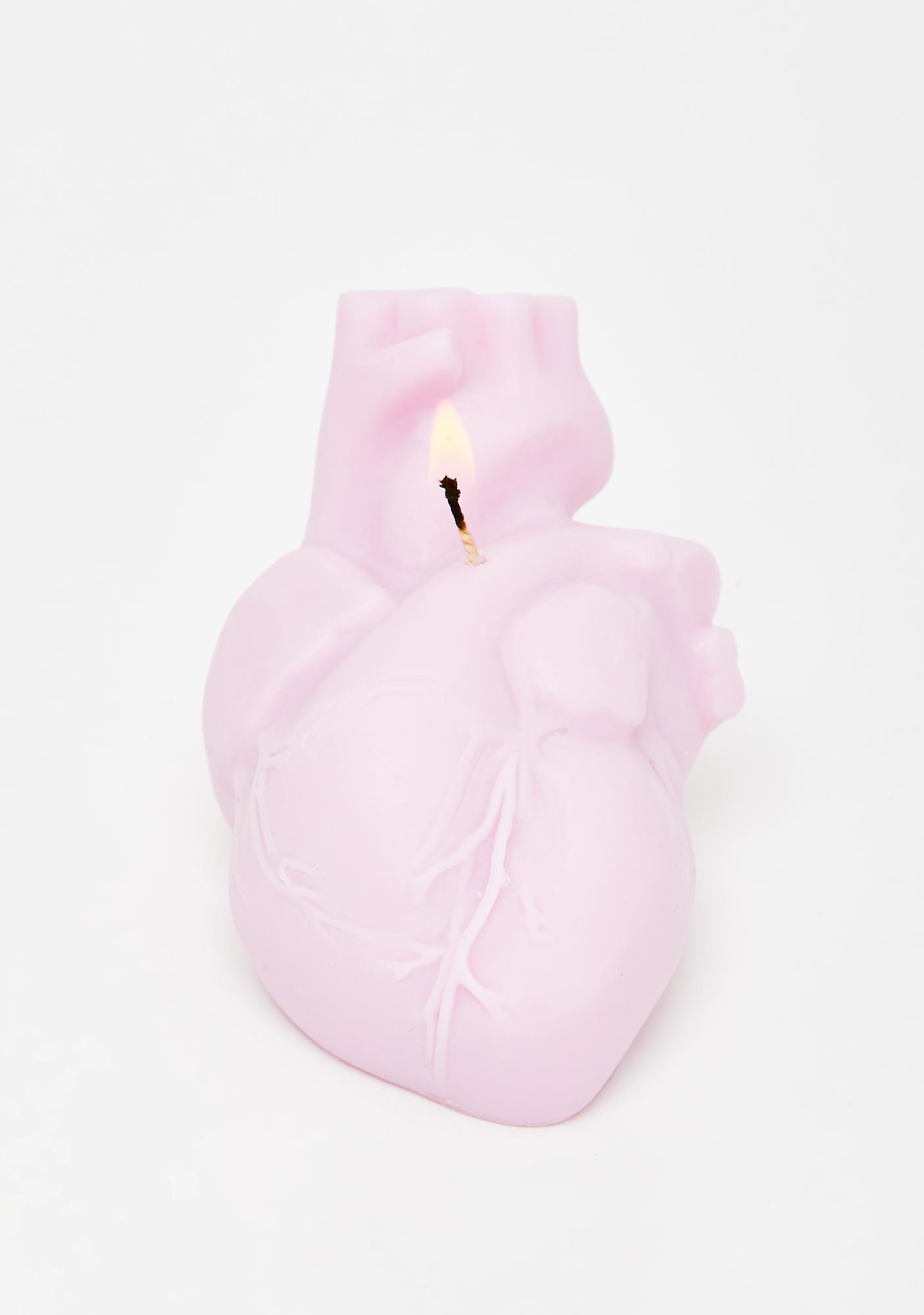The Blackened Teeth Anatomical Heart Scented Candle
