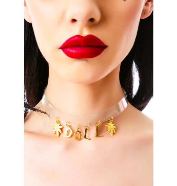 Vidakush Willow Luvs Ganja Doll Choker