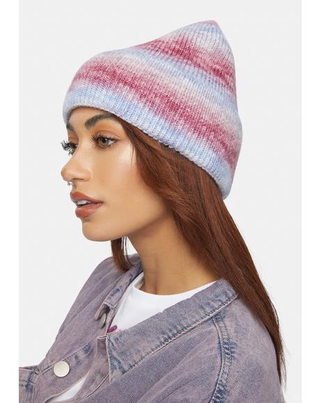 Sherbet Second That Emotion Knit Beanie