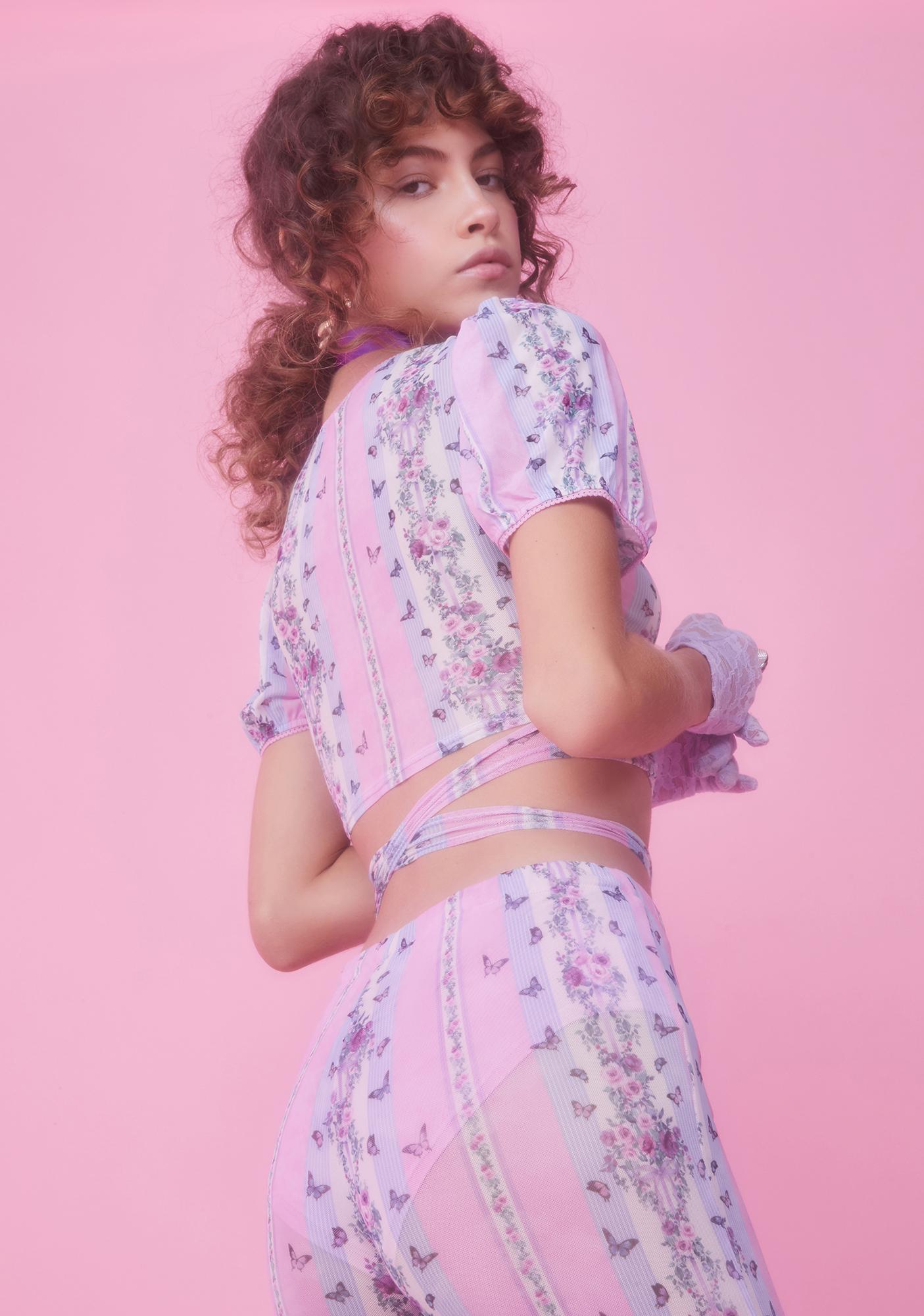 Sugar Thrillz Queen Diaries Wrap Top