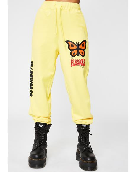 Dreamlover Butterfly Sweatpants