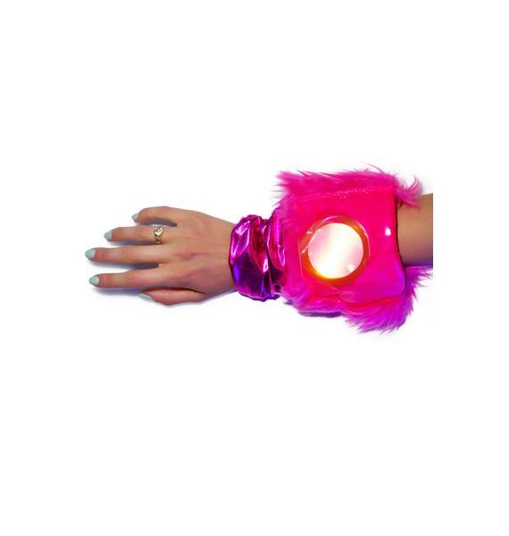J Valentine Flashing Lights Gloves