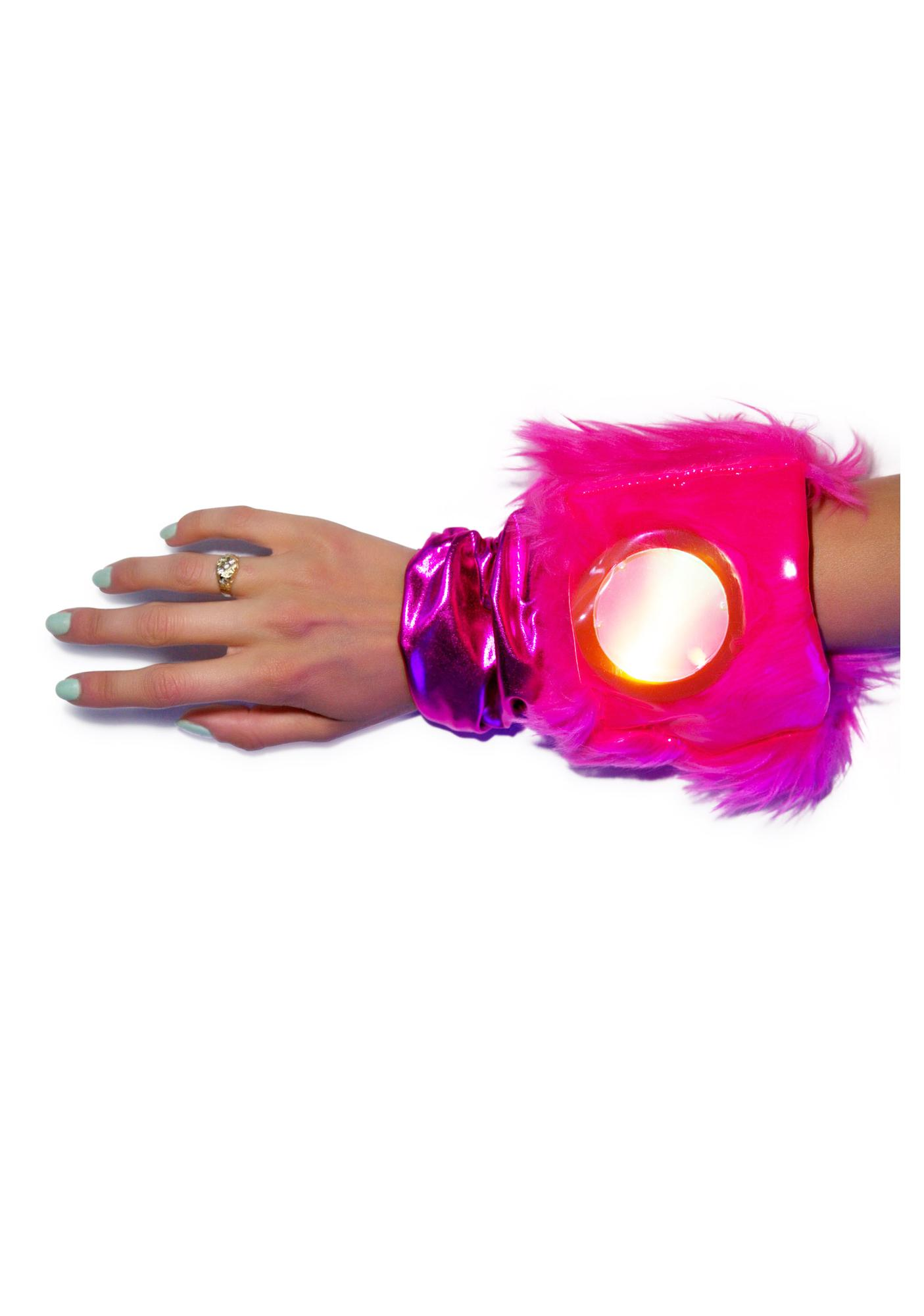J Valentine Flashing Lights Gloves