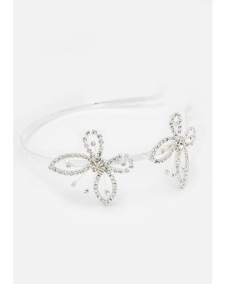 Like A Monarch Butterfly Headband