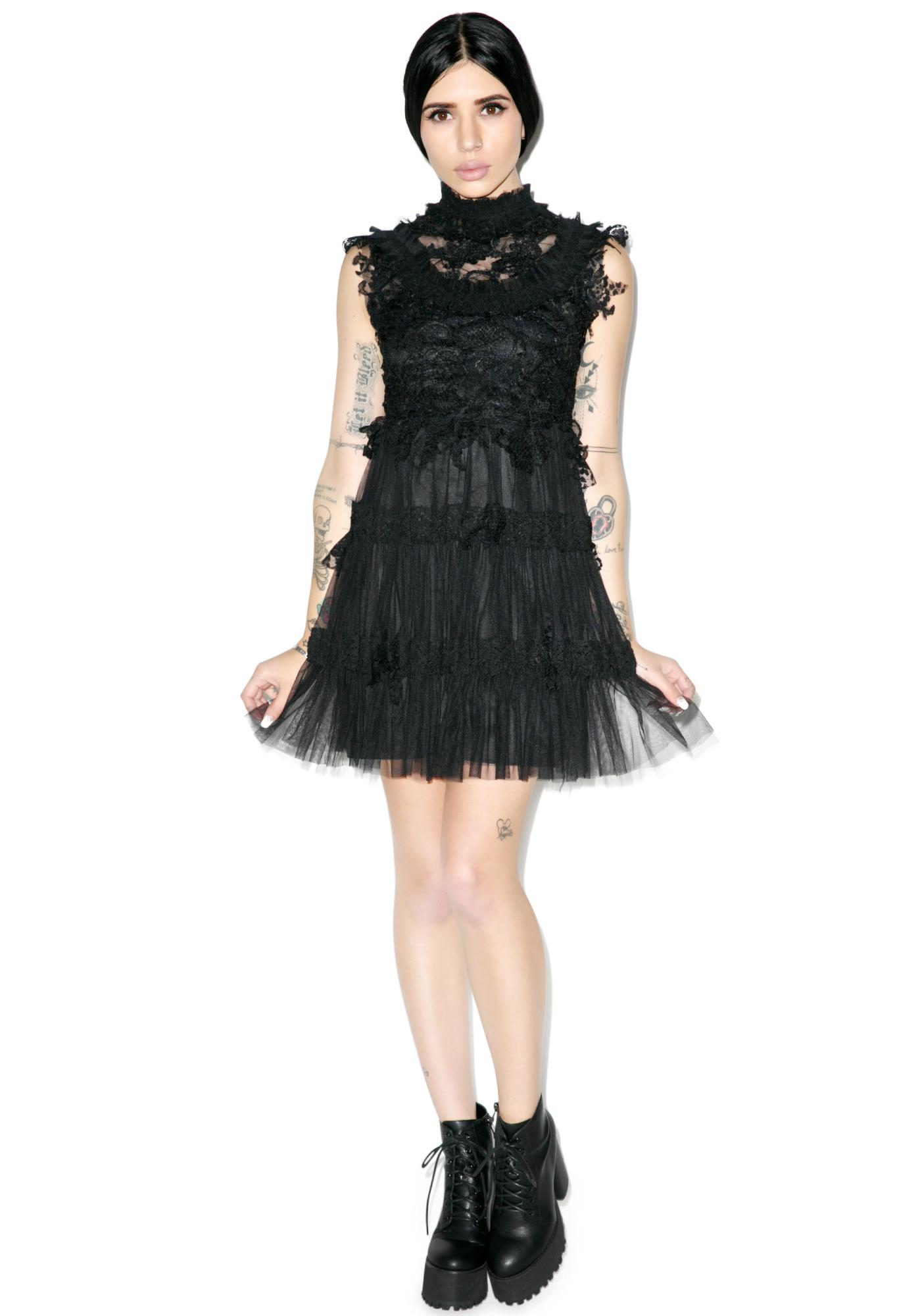 Angelic Dress Black
