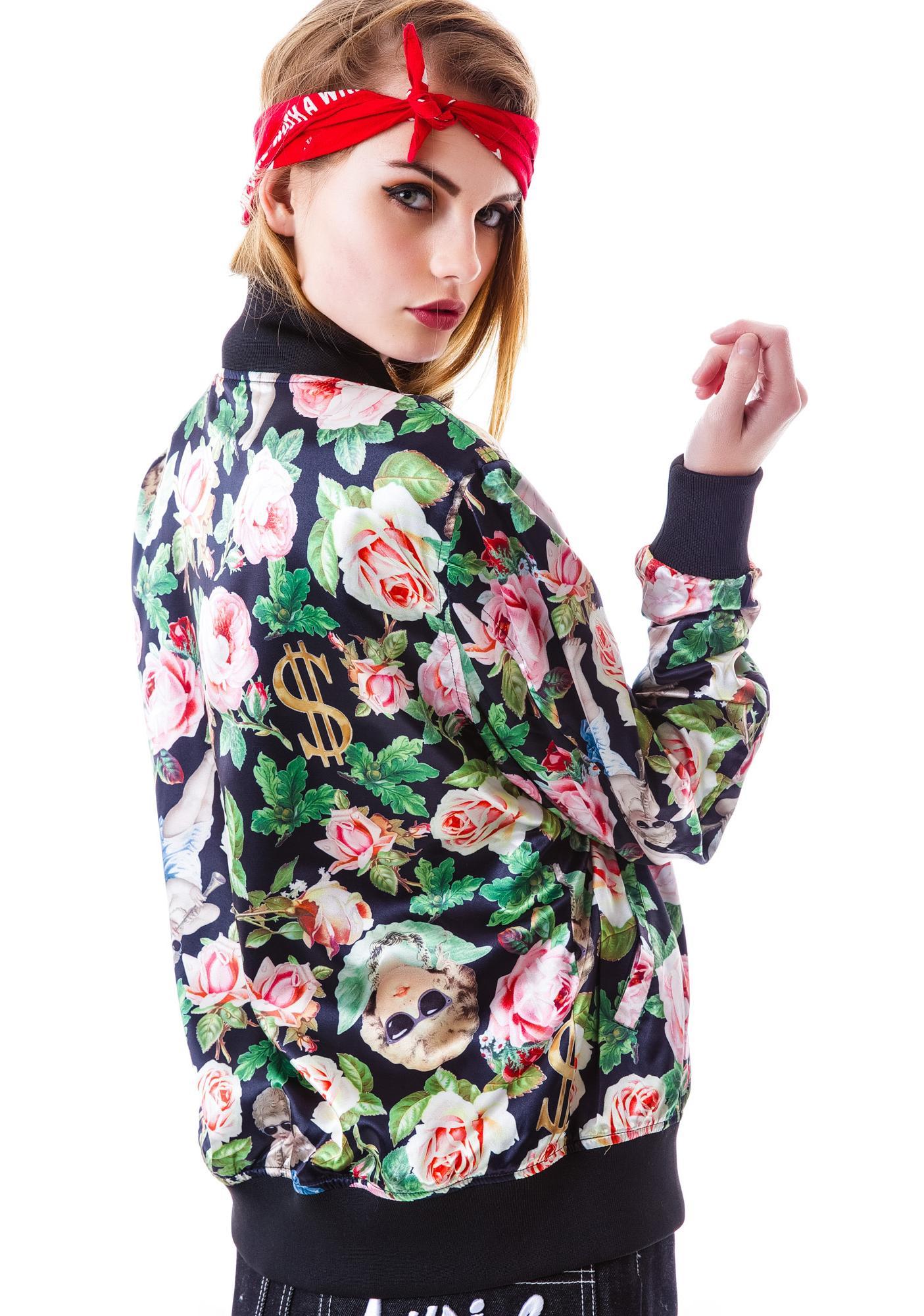 Joyrich Angelic Rich Floral Reverse Jacket