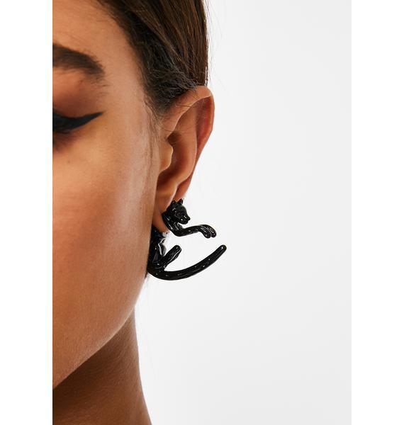 Unlucky Prowl Stud Earrings