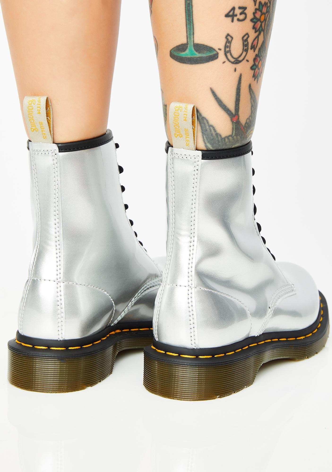 Dr. Martens Vegan Chrome 1460 Boots