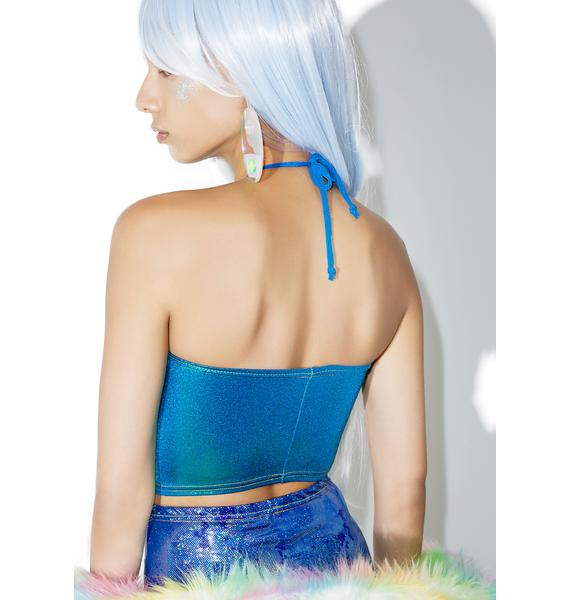 Jade Clark Out Of This World Halter Top