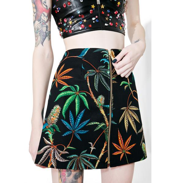 Sativa Zipper Skirt