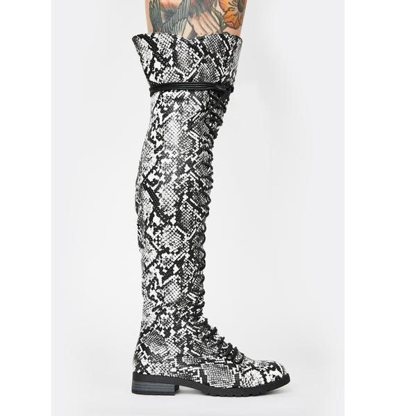 Viper Harsh Fight Lace Up Boots