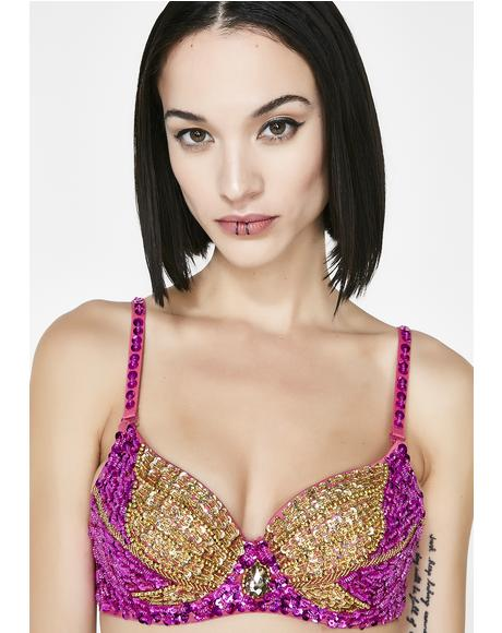 Sweet Ratchet Radiance Bling Bra