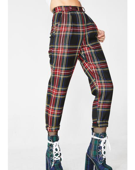 Plaid Karolina Classic Trousers