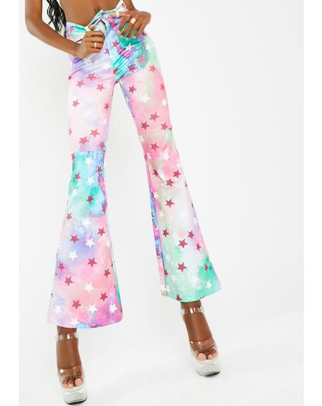 On A Cloud Flare Pants