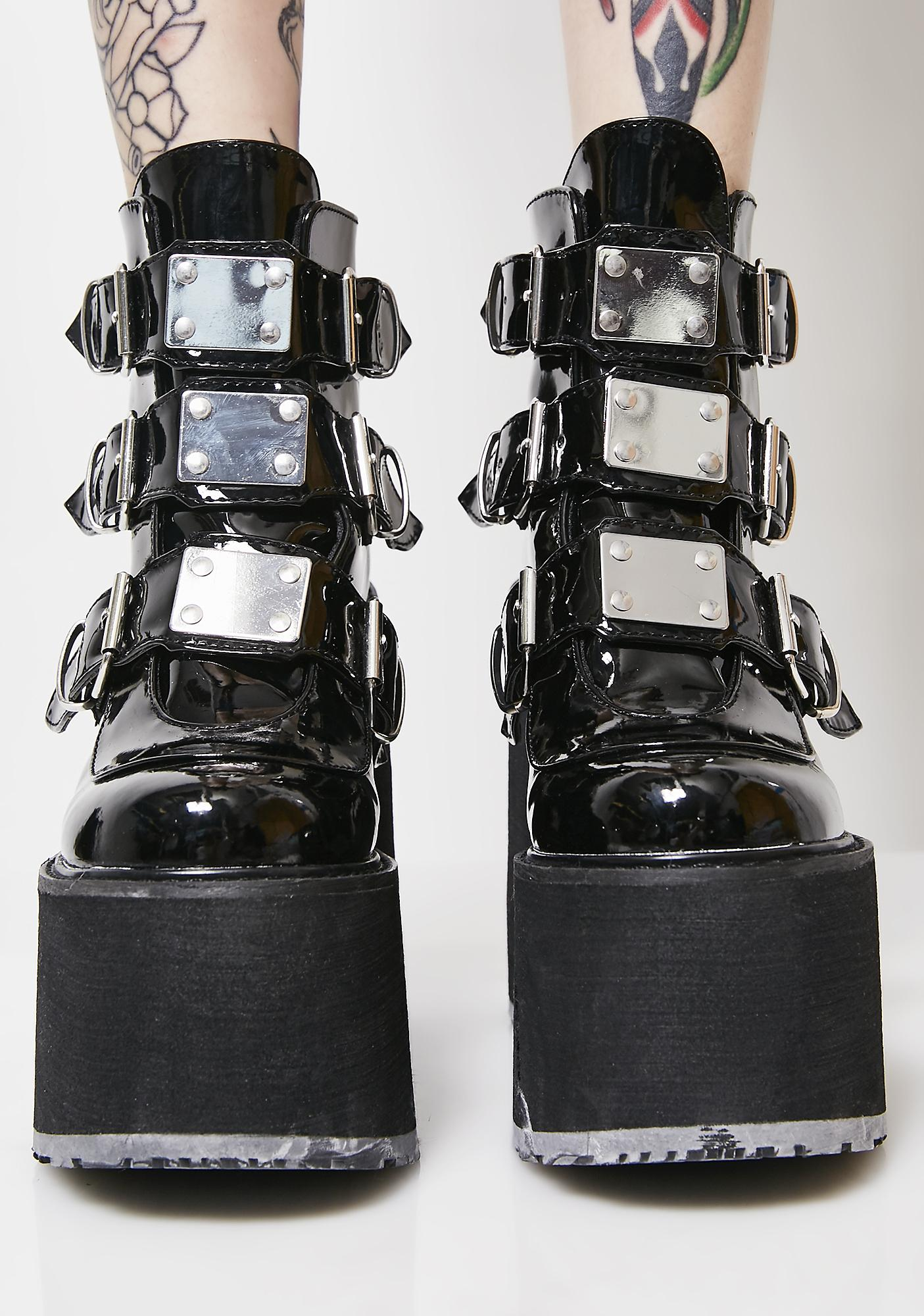 Demonia Low Trinity Boots Dolls Kill
