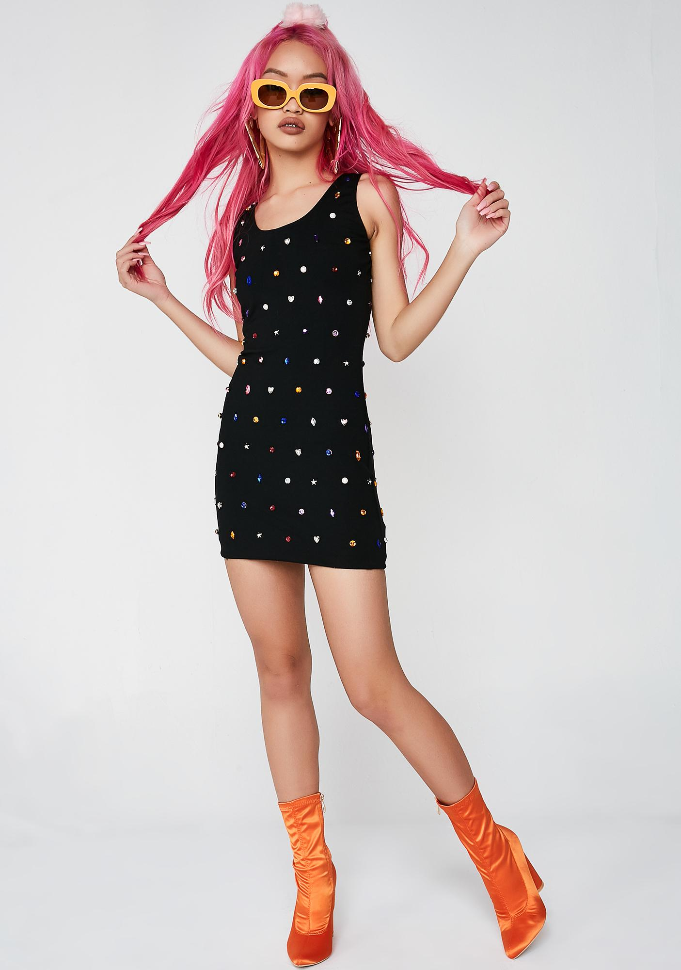 Poster Grl Breakin' The Bank Mini Dress