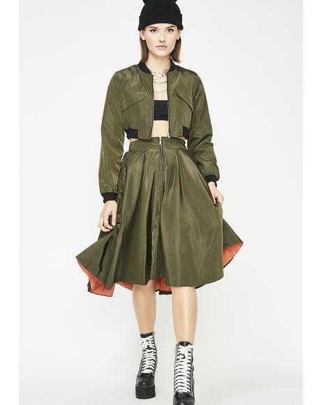 Royal Hypeness Skirt Set