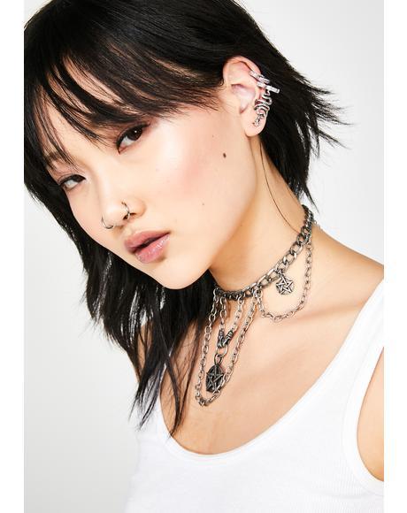 Vile Vixen Snake Ear Cuffs