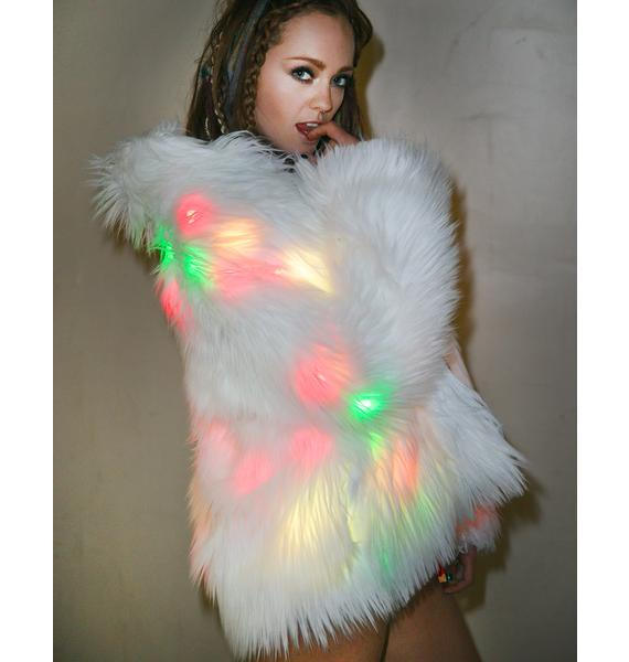 J Valentine Flashing Lights Midi Jacket