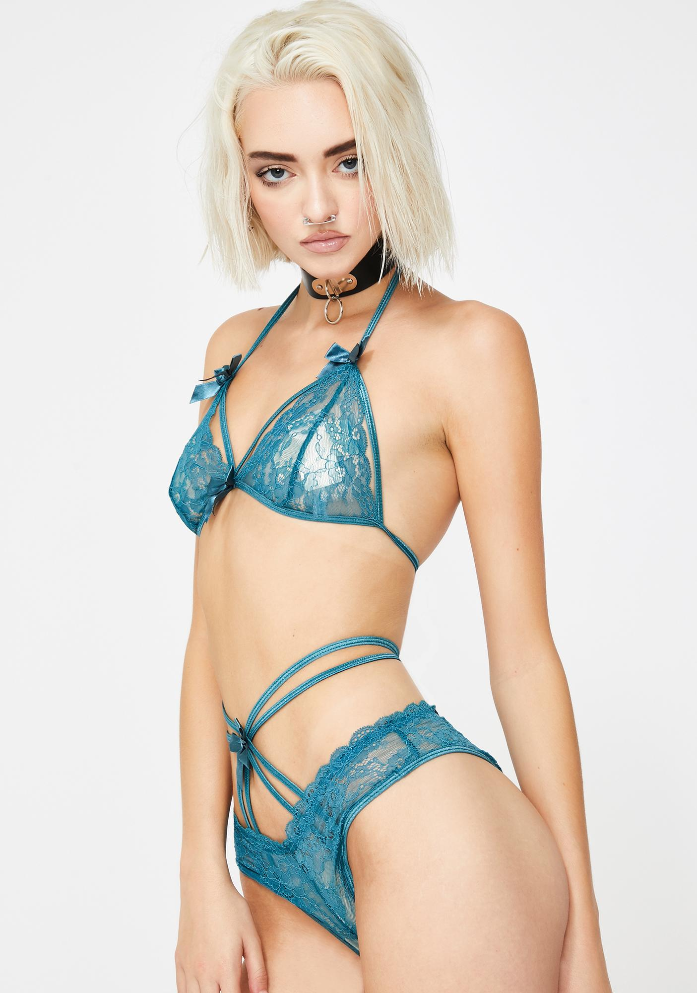 Shades Of Desire Lace Set
