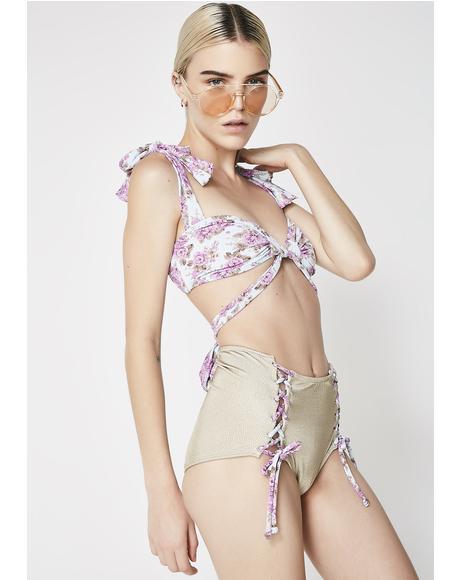 Persephone Wrap Bikini Top