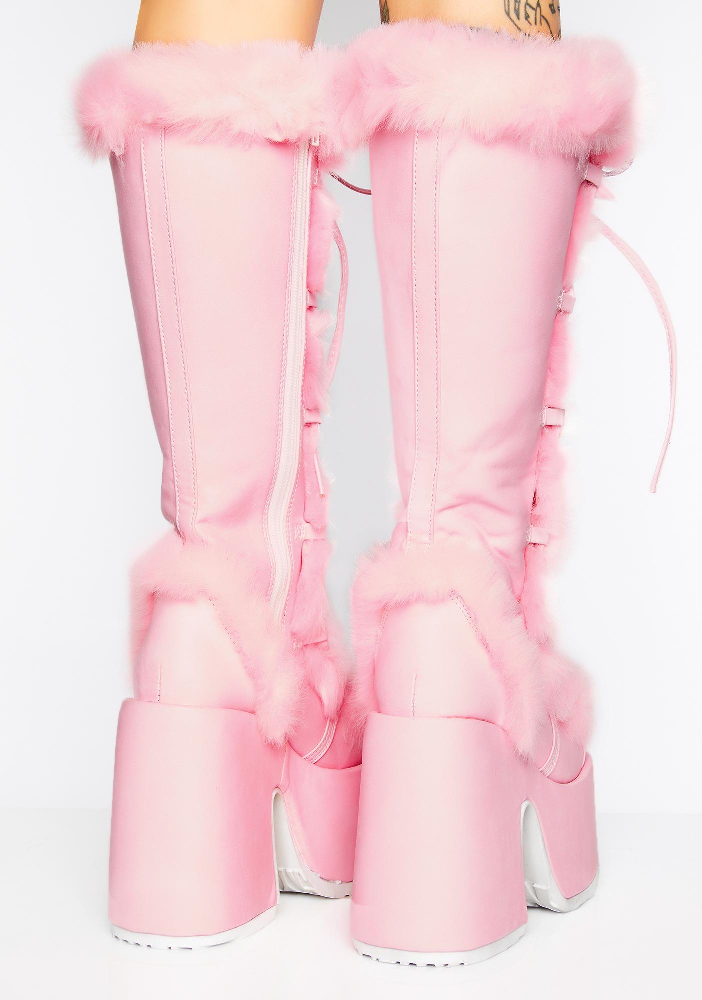 Demonia Sweet Pure Vigilance Platform Boots