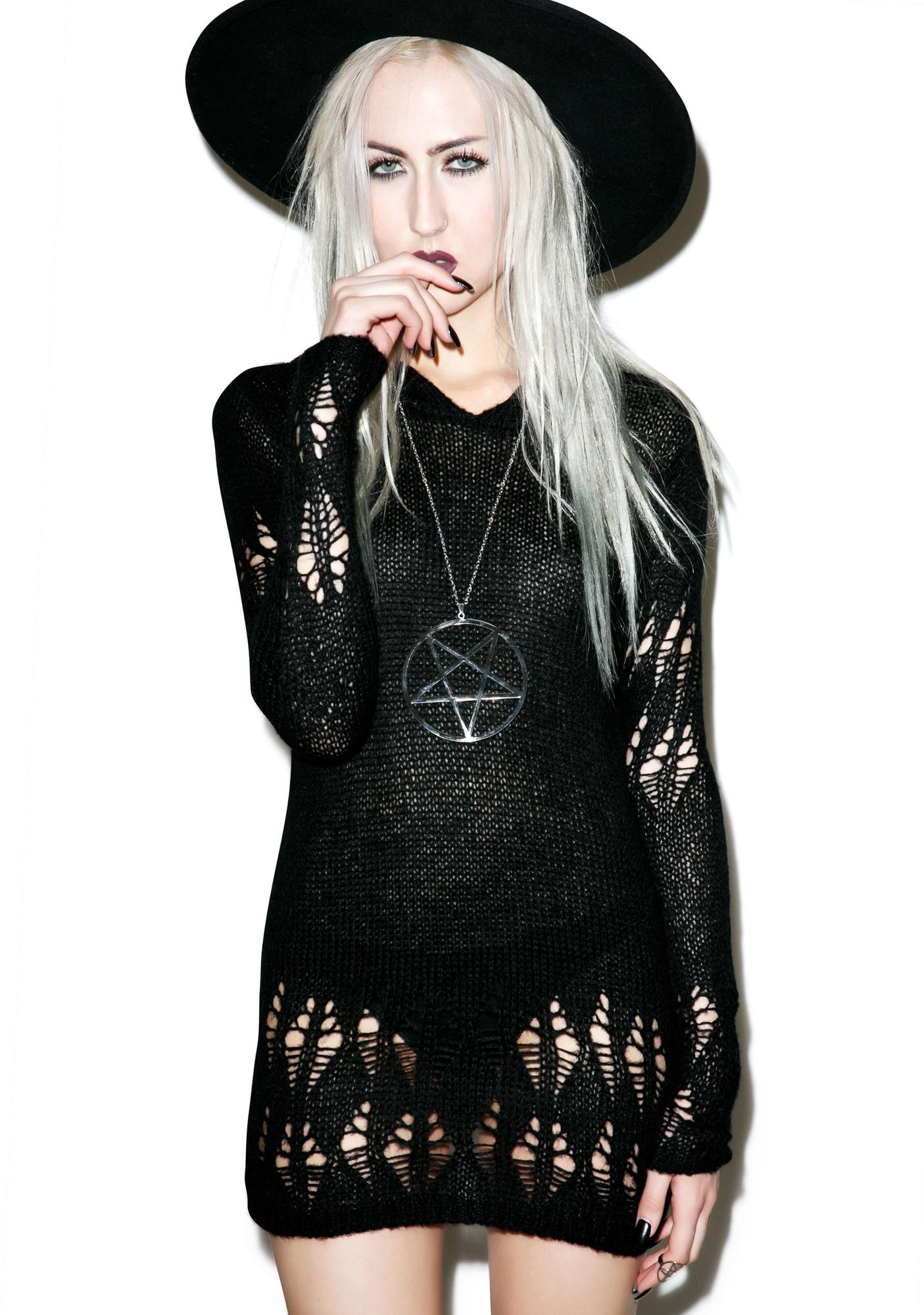 Killstar Creep Knit Sweater