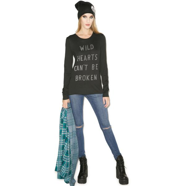 Zoe Karssen Wild Hearts Long Sleeve