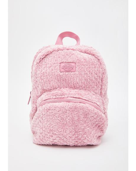 Blush Sherpa Mini Backpack