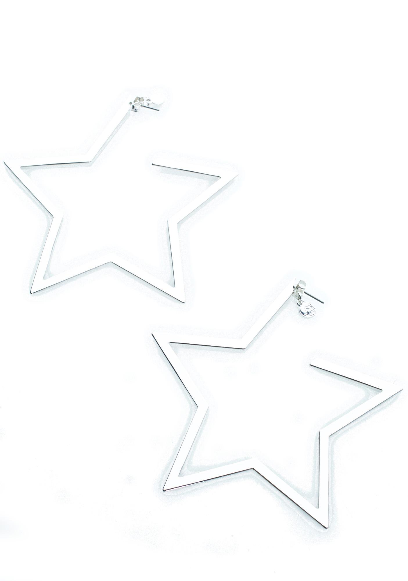 Cheap Monday Star Earrings