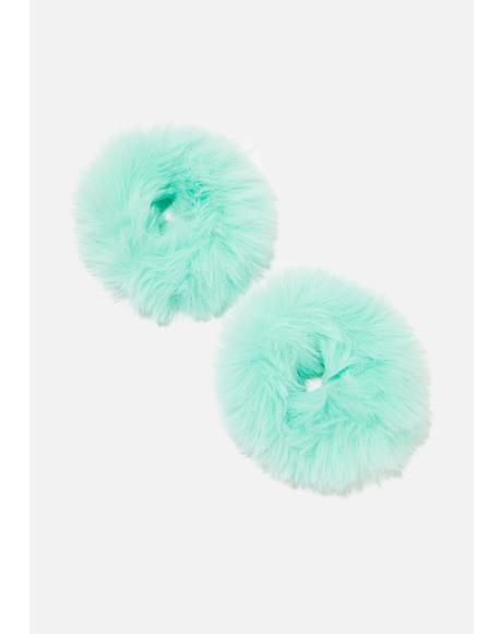 Calling All Monster Fuzzy Scrunchies