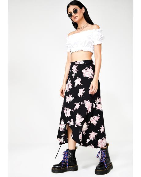 Satha Midi Skirt
