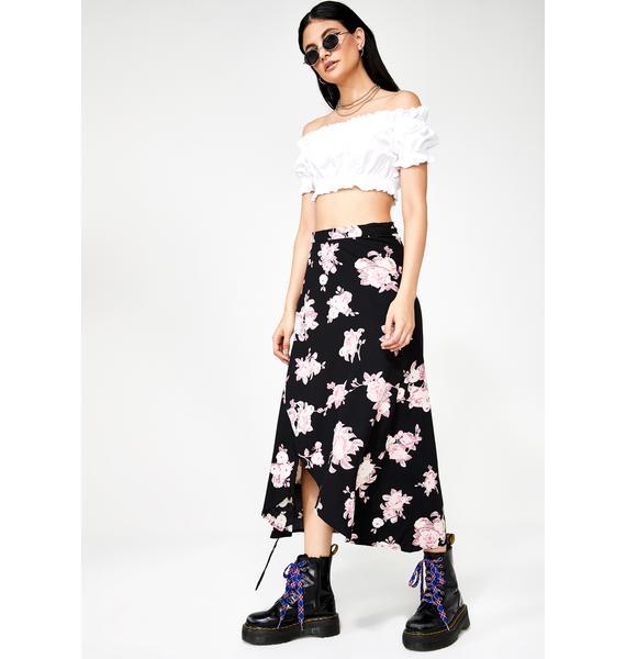 Motel Satha Midi Skirt