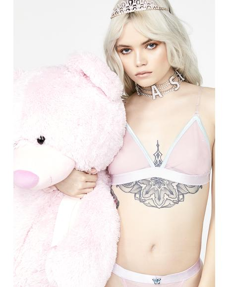 Give Me Sugar Sheer Bralette