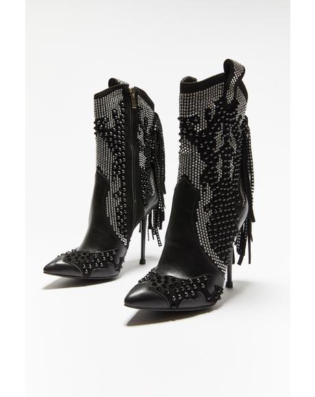 Tipsy Moonshine Cowboy Boots