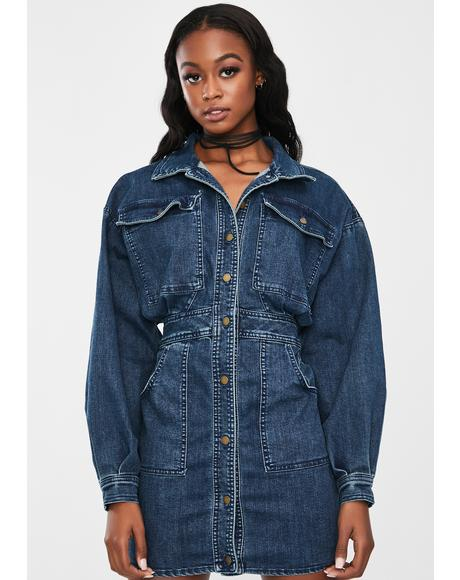 Indigo Bo Denim Dress