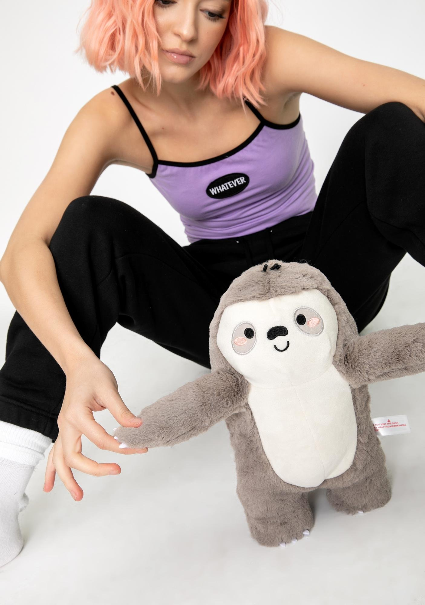 Smoko Sloan Sloth Toasty Plush Toy