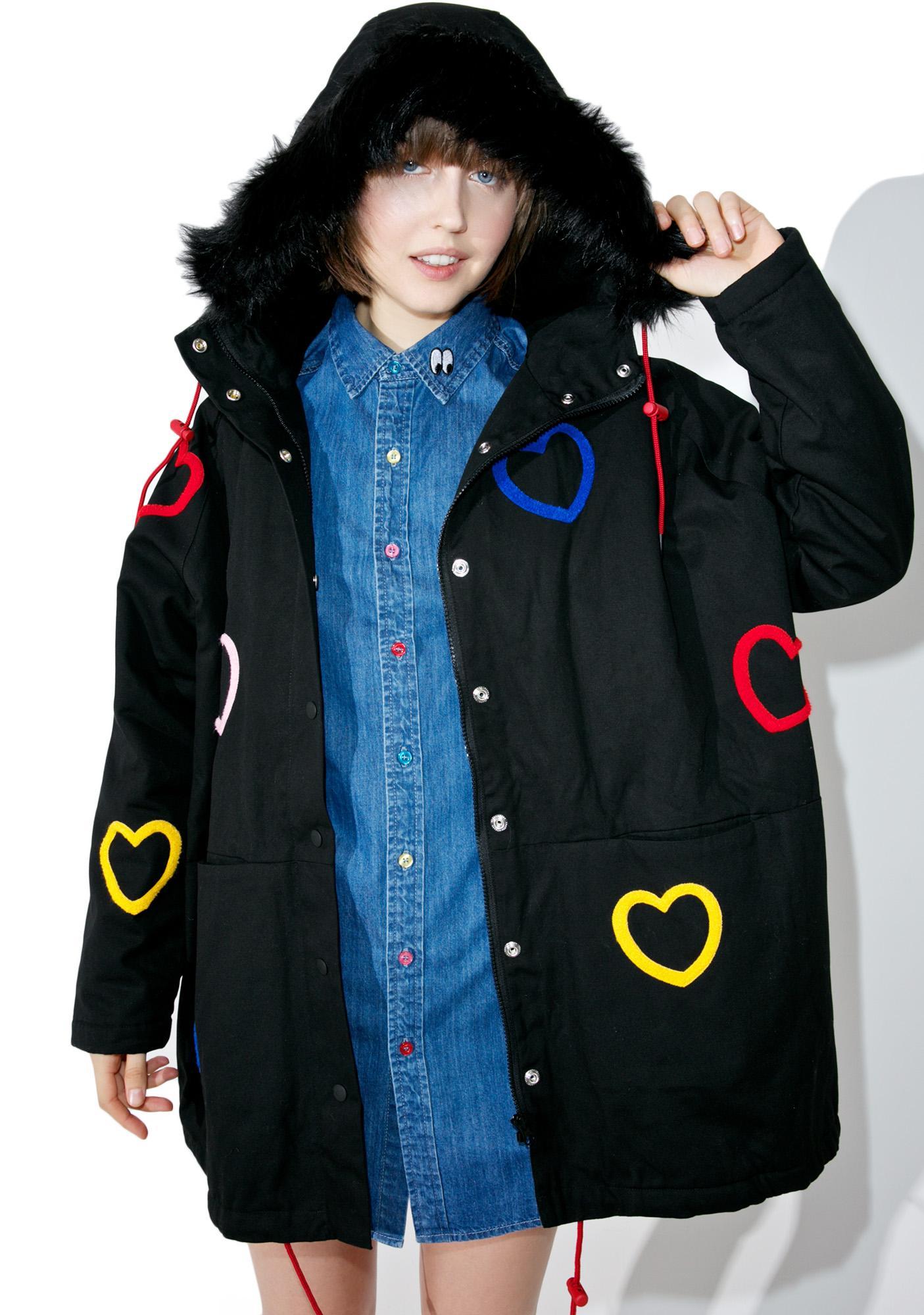 Lazy Oaf Heart Collection Jacket