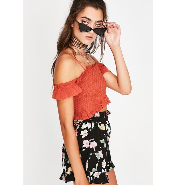 Fatal Flower Flowy Shorts