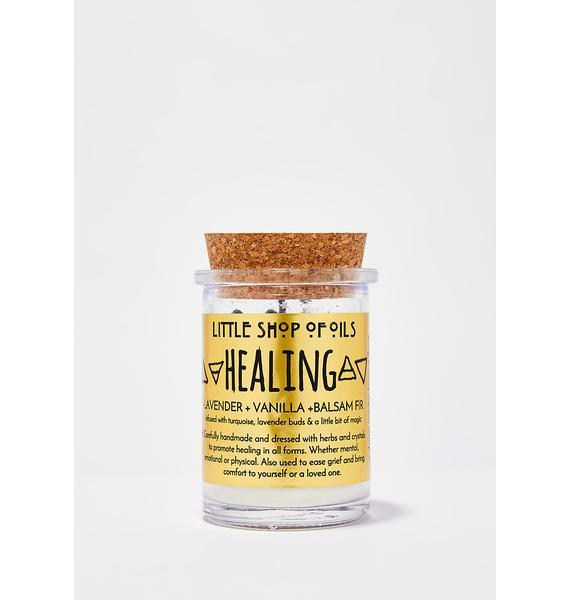 Little Shop of Oils Healing Ritual Candle