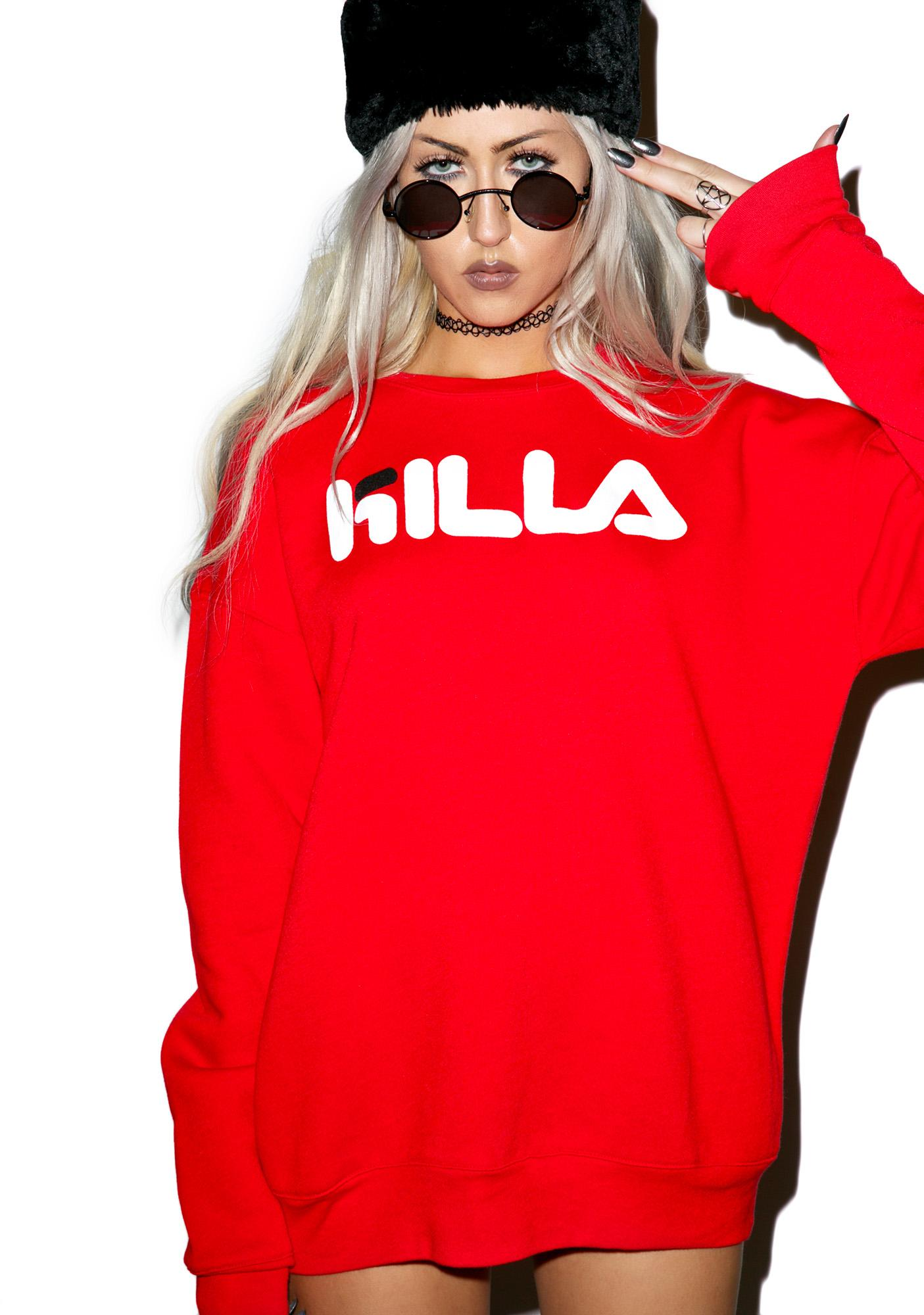 Kill Brand Killa Loose Crew Sweatshirt