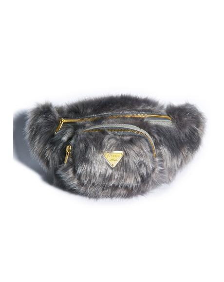 Candy Fur Waist Pack