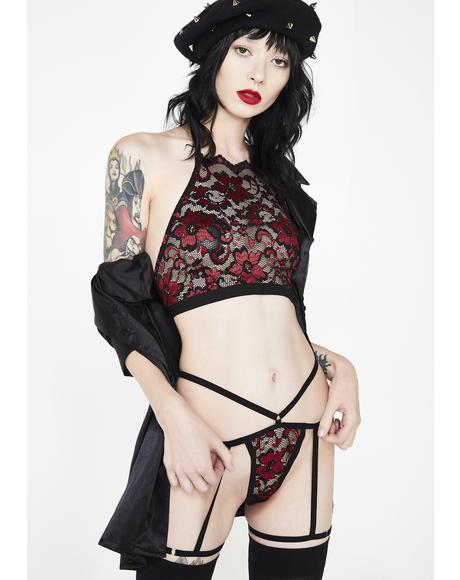 Seductive Sorceress Lingerie Set