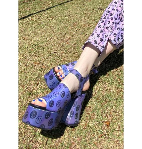 HOROSCOPEZ Mind Games Platform Heels