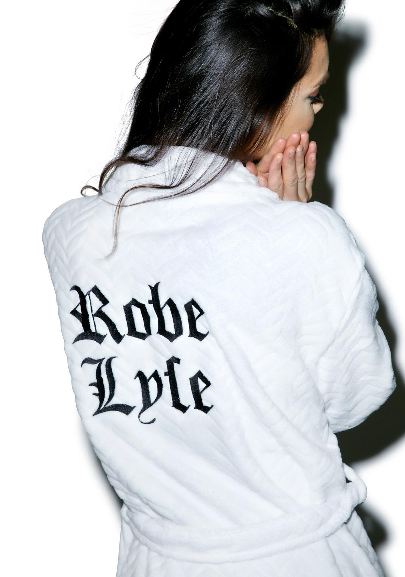 Private Party Robe Lyfe Embroidered Robe