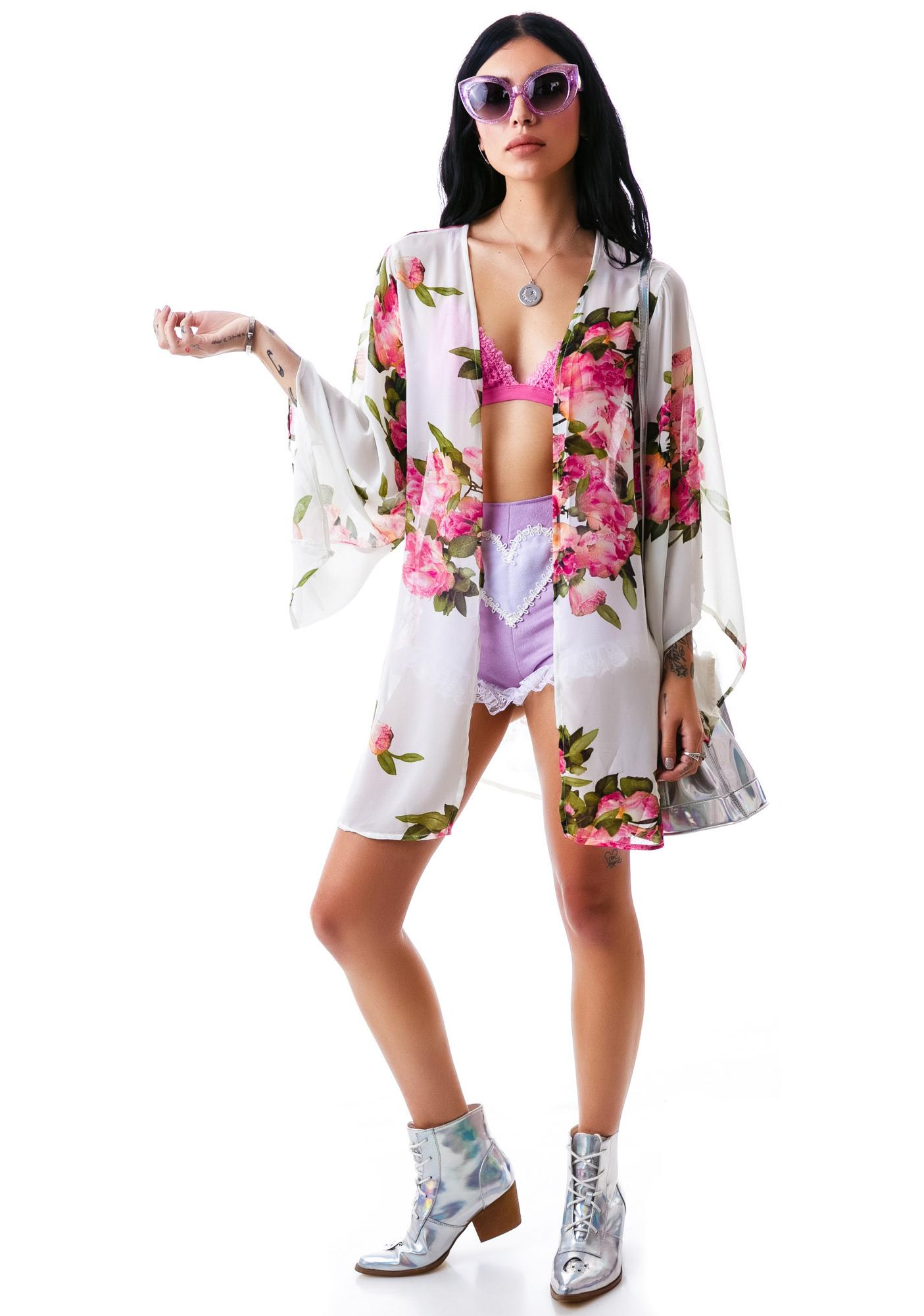 Not So Secret Garden Kimono