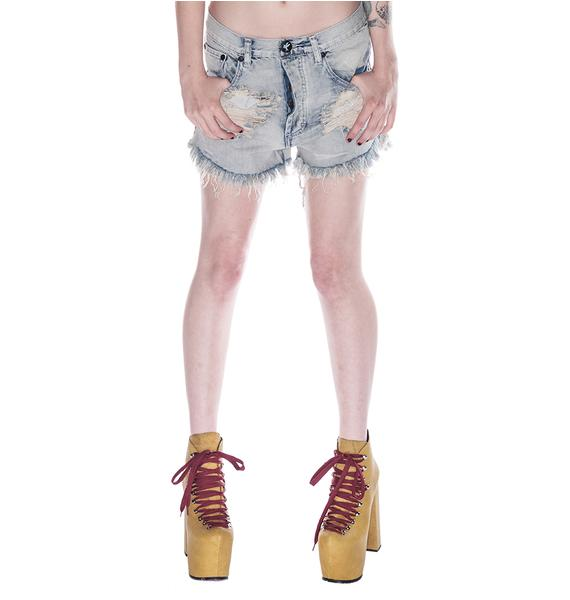 One Teaspoon Outlaws Shorts