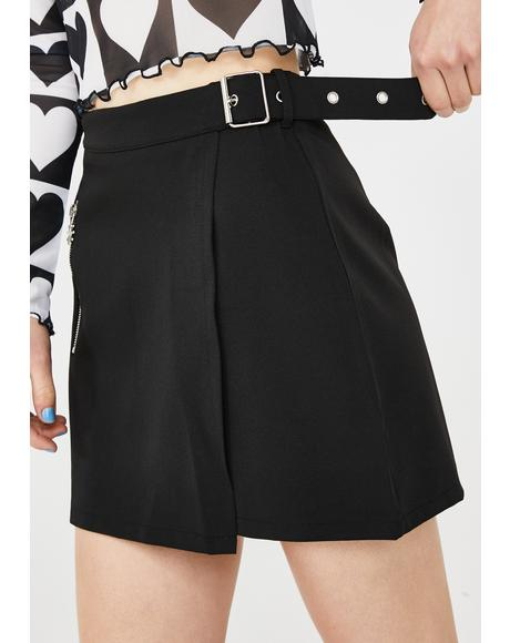 Skipping Daydreams Buckle Skirt